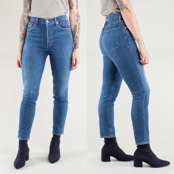 b78ff8c78a37 Agolde Jeans | Nico High Rise Slim Fit | Poshmark